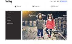 The Shop - Best Free WordPress eCommerce WooCommerce Themes