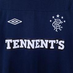 Umbro Men's Size Medium Blue Embroidered Logo Tennent's Short Sleeve T-shirt #Umbro #EmbellishedTee