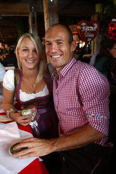 Bernadien Robben & Arjen Robben