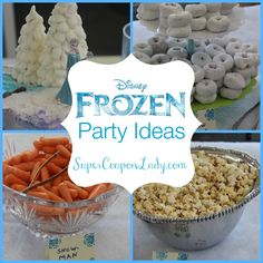 Disney Frozen Party Ideas! If you are having a Disney Frozen Party, you will LOVE this! http://www.supercouponlady.com/2014/04/disney-frozen-party-ideas.html/