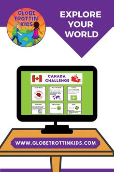 Engaging and interactive activities for exploring Canada. Sketch a map, watch an informational video, browse the photo gallery, discover popular foods, sports, and animals, listen to a story, and wrap it all up with a cootie catcher! #GlobeTrottinKids #WebsiteForKids #GlobalEd #MulticulturalEd #SocialStudies #WorldGeography #Geography #CulturalAwareness #Elementary #Countries #RemoteLearning #RemoteTeaching #LearnAtHome #AtHomeLearning #Canada #CanadaForKids Canada For Kids, Japan For Kids, Germany For Kids, Italy For Kids, India For Kids, Geography Of Mexico, Geography Of Canada, Geography For Kids, World Geography