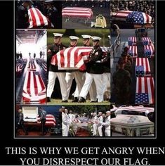 Our fallen heroes deserve our respect and that is standing for our national anthem and our flag. The flag they fought and died for. American Veterans, American Soldiers, American Presidents, Military Love, Military Quotes, In Harm's Way, Support Our Troops, Political Views, Political Quotes