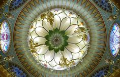 Pavilion Music Room light, Brighton Pavilion, by CardiganKate, via Flickr