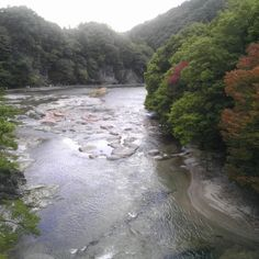 valley  on my daily life and tagged autumn, fall, Fukiware, Gunma, japan, landscape, matchaatnoon, nature, on my daily life, river, travel