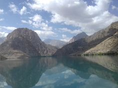 Tajikistan, Iskandarkul River, Mountains, World, Nature, Outdoor, Outdoors, Naturaleza, The World, Outdoor Games