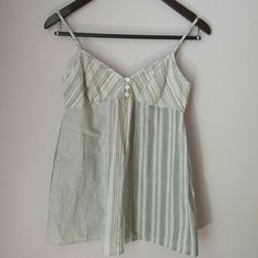 Charlotte Russe top Cute striped top with adjustable straps. Adorable with some cut offs and sandals. Or add a cardigan, some peep toe heels, and some skinny jeans for a date. Fun versatile top for spring and summer!   Bundle for best deals!! Lots of items available starting at $5! Charlotte Russe Tops