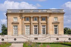 Jacques-Ange Gabriel, Château de Versailles, Petit Trianon. View of exterior facade, France, 1751-1768