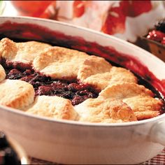Country Berry Cobbler with Rich Biscuit Crust from Martha White®