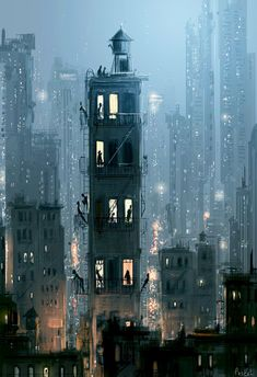 To Everyone Else It's The Same Old Story - Open Art Print- To Everyone Else It's The Same Old Story – Open Art Print Open art print. Art print by Pascal Campion. x Epson Ultra Premium Paper. City Art, Art And Illustration, Samsung Wallpapers, Open Art, Pixel Art, Amazing Art, Concept Art, Scenery, Art Prints