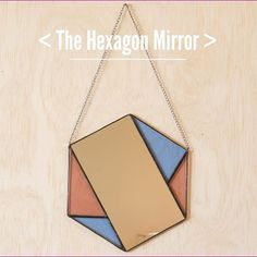 Your new favorite stained glass geometric mirror is available at janelfoo.com #janelfooglassworks #stainedglass #madeinhighlandpark #madeinla #handmade #glassworks #glass #supporthandmade #shoplocal #supportlocalartists #HighlandPark #etsy #crafter #maker #handcrafted #imadethis #homedecor #mirror #hexagon #geometric #walldecor