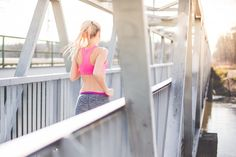 Free Image: Young Fit Woman on Morning Jogging Run | Download more on…