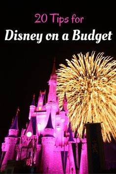 Looking to Save Money on your Disney World vacation? Here are 20 Great Tips for Disney on a Budget | tipsforfamilytrips.com