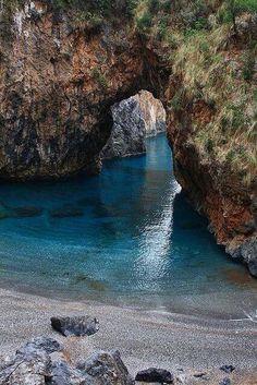 Sea Portal, Calabria, Italy.