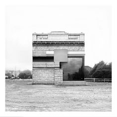 English photographer Oliver Michaels creates images through the composition of different architectural elements as found in specific places. The original pieces are mostly photographed in locations around Longpoint, Brooklyn where the artist is currently based, but also around Rockaway, Queens...