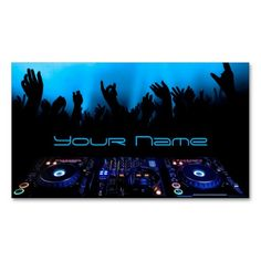 dj business card - Dj Business Cards