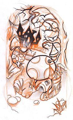 halloween sketch by WillemXSM