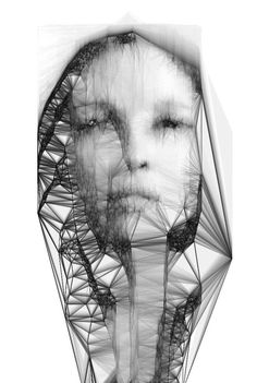 Sergio Albiac, Monolithic fragility Generative digital image looks like she's cracking i like how soft and hard contrast Systems Art, Identity Art, Monochrom, Digital Image, Digital Art, Traditional Art, Fine Art Photography, Digital Illustration, Sculpture Art