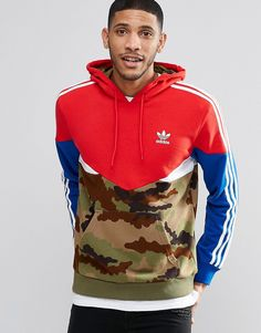 adidas Originals Camo Pack Hoodie AY8106 at asos.com