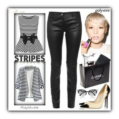 """""""#470 One Direction: Striped Shirts: 07/03/16"""" by pinky-chocolatte ❤ liked on Polyvore featuring Fendi, WearAll, WithChic, Balenciaga, Lime Crime, Chanel, Jimmy Choo and Giles & Brother"""