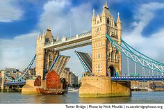 The Tower Bridge (photo by Nick Moulds), finalist in the ASCE Bridges Photo Contest