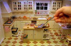 Un Taller de Miniaturas: Mi cocina shabby II/My shabby kitchen II