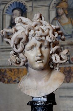 TITLE:Medusa  ARTIST:Gian Lorenzo Bernini  OWNER:Capitoline Museums  COUNTRY OF ORIGIN:Italy