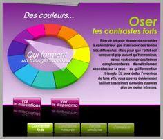 harmonie de couleur bordeaux | ... de créer et de voir les associations de couleurs selon 4 harmonies de