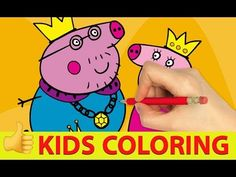 Kids Coloring And Drawing Coloring Peppa Pig Family Coloring time has never been more fun! Enjoy coloring and playing online games from Peppa Pig. Pig Games, Cute Games, Animal Games, Cartoon Games, Cartoon Kids, Family Games, Games For Kids, Peppa Pig Family, Coloring For Kids