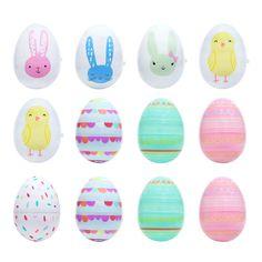 Celebrate Easter Together 12-piece Split Egg Set