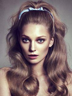 barbie hair,love me some big hair 1960 Hairstyles, Pretty Hairstyles, Wedding Hairstyles, 1950s Hairstyles For Long Hair, Volume Hairstyles, Grease Hairstyles, Classy Hairstyles, Fashion Hairstyles, Style Hairstyle