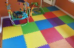 Rainbow Play Mats - Colorful Interlocking Foam Tile Pack