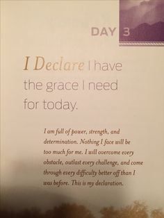 "This is from the Joel Osteen book ""I declare""  One of the best investments I've made!"