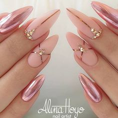 """your success is our reward"" – Ugly Duckling Nails Inc. - womenfashion:separator:""your success is our reward"" – Ugly Duckling Nails Inc. Pink Nail Art, Pink Nails, My Nails, Gold Nails, Gradient Nails, Holographic Nails, Classy Nails, Cute Nails, Pretty Nails"