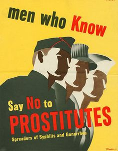 Anti-Prostitution Posters from World War Two