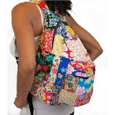 Cotton Floral Backpack Floral Backpack, Marigold, Indian, Cotton, Bags, Style, Fashion, Handbags, Swag