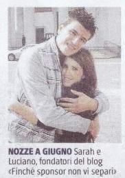 """Parla di noi """"Il Giornale""""!   http://www.finchesponsornonvisepari.blogspot.it/2014/11/parla-di-noi-il-giornale.html   #finchesponsornonvisepari #nozzeconsponsor #ilgiornale #lowcost #saraheluciano #matrimonio"""