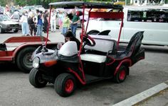 Custom Golf Cart -- Bat cart