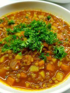 Yeşilkivi | denenmiş, fotoğraflı tatlı ve yemek tarifleri… Chili, Soup, Chile, Soups, Chilis