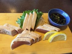 Tuna Tataki, Fuji Sushi,  302 114th Street, North Battleford, Saskatchewan