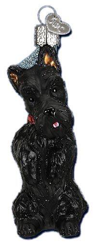 Scottish Terrier | Scottie Dog Ornament | Old World Christmas Glass Ornaments