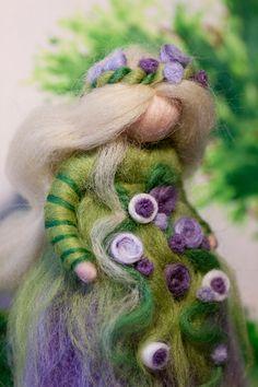 wool fairy, Frühlingsfee aus Märchenwolle, fairy, felt, wool, craft, jahreszeitentisch, märchenwolle