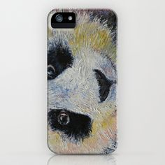 Panda iPhone Case by Michael Creese - $35.00