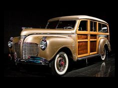 1941 Plymouth Special Deluxe Woody Wagon.
