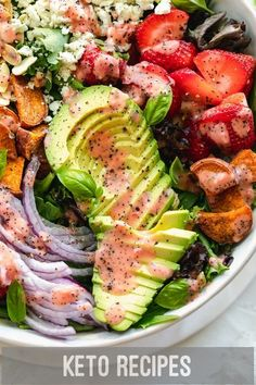 How to Start low carb Eating plan for total Beginners  #keto #foodporn #carnivore #nutrition #lowcarblifestyle #healthyliving #ketogenic #ketolifestyle #ketoaf #ketofam #vegan Healthy Salads, Easy Healthy Recipes, Easy Meals, Healthy Eating, Healthy Dinners, Healthy Food, Salad Recipes For Dinner, Summer Salad Recipes, Meal Recipes