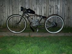 Bicycle conversion the gas models like this smell and are noisey,get the electric conversion it is so much better