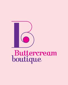 Buttercream Boutique identity