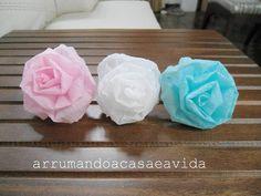 Cláudia Pinto: Topiaria de papel crepom