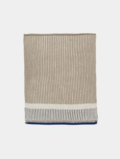 Akin Knitted Kitchen Towel - Beige 1