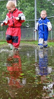 Skedaddle: 10 Ways to Get Your Kids Out in the Rain