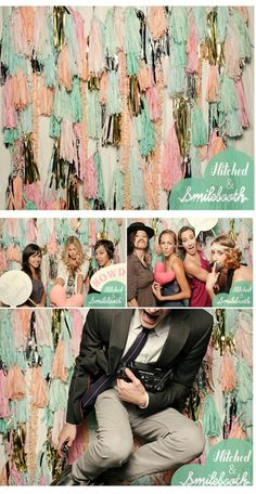 Be Still My Heart: Best Photobooth Backdrops - For more ideas and inspiration like this, check out our website at www.thepartybelle.net